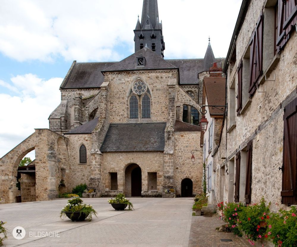 Orbais l'Abbaye, Abbey church St. Pierre